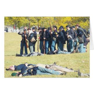Civil War Days- Hartford City, Indiana Card
