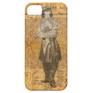 Civil War soldier Deceleration of independence iPhone 5 Cover