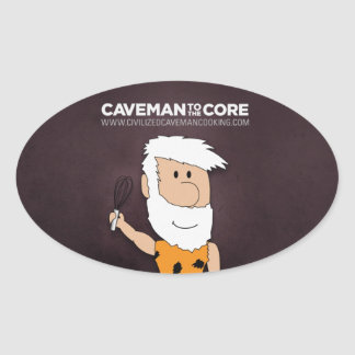 Civilized Caveman Cooking Sticker