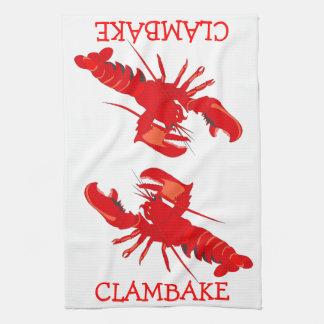 Clambake Kitchen Towels