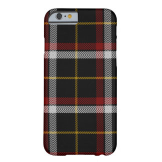 Clan Black Tartan Barely There iPhone 6 Case