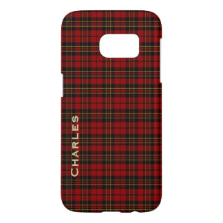Clan Brodie Tartan Plaid Samsung Galaxy S7 Case
