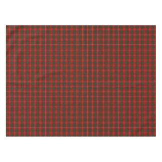 Clan Bruce Tartan Plaid Table Cloth Tablecloth