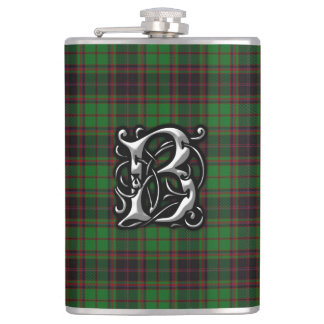 Clan Buchan Tartan Old Scotland Flask