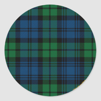 Clan Campbell Classic Round Sticker