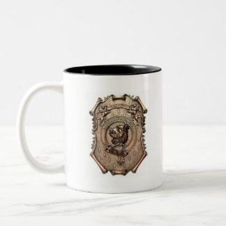 Clan Campbell Crest Two-Tone Coffee Mug