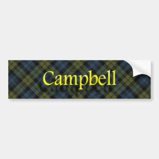 Clan Campbell Scottish Bumper Sticker