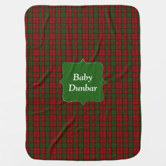 Clan Dunbar Tartan Plaid Baby Blanket