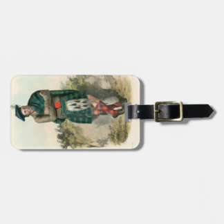 Clan Graham Luggage Tag