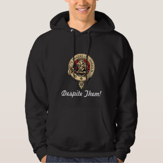 Clan Gregor Badge Despite Them Hoodie