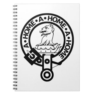 Clan Home Notepad Spiral Notebook