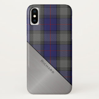 Clan Kinnaird Tartan Plaid iPhone X case