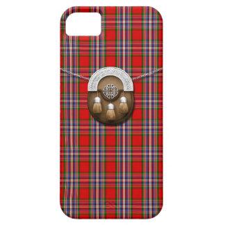 Clan MacFarlane Red Tartan And Sporran iPhone 5 Covers