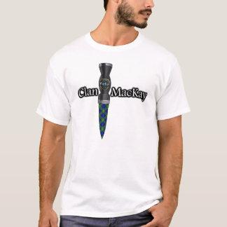 Clan MacKay Tartan Scottish Sgian Dubh T-Shirt