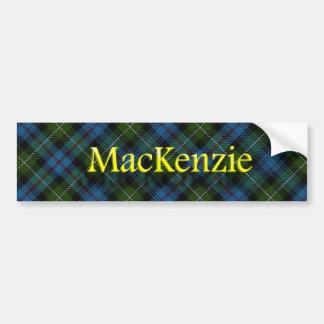 Clan MacKenzie Scottish Bumper Sticker