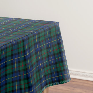 Clan MacLeod of Skye Blue & Green Scottish Tartan Tablecloth