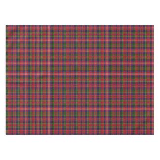 Clan MacPherson Tartan Plaid Table Cloth Tablecloth