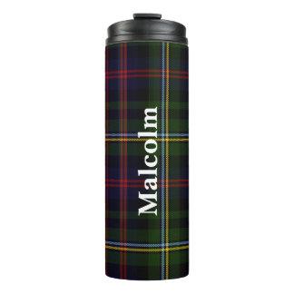 Clan Malcolm Plaid Custom Thermal Tumbler