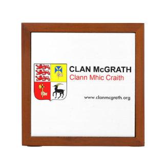 Clan McGrath Desk Organiser
