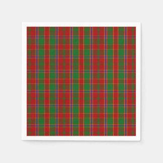 Clan Monro Tartan Paper Serviettes