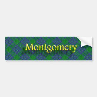 Clan Montgomery Scottish Bumper Sticker