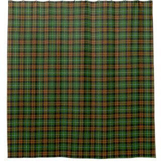 Clan Ramsay Scottish Classic Orange Hunting Tartan Shower Curtain