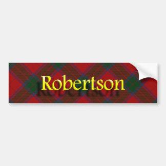 Clan Robertson Scottish Bumper Sticker
