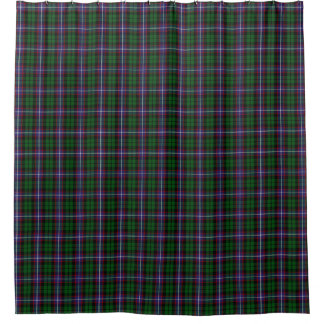 Clan Russell Classic Scottish Tartan Shower Curtain