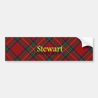 Clan Stewart Scottish Bumper Sticker