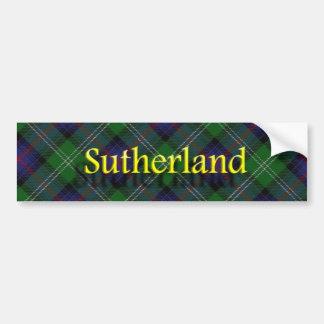 Clan Sutherland Scottish Bumper Sticker