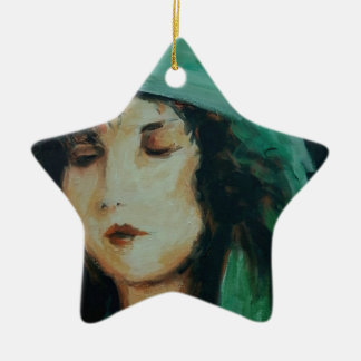 Clara Bow Christmas Ornament