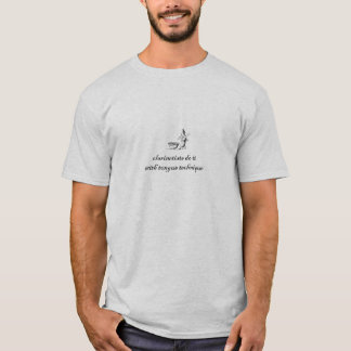 clarinetists do it with tongue technique T-Shirt