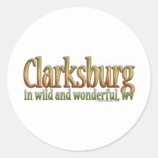 Clarksburg, West Virginia Sticker
