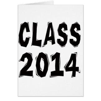 Class 2014 card