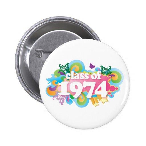 Class of 1974 pins