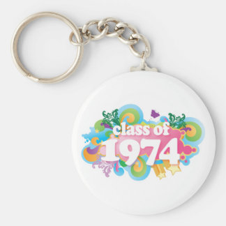 Class of 1974 key chains