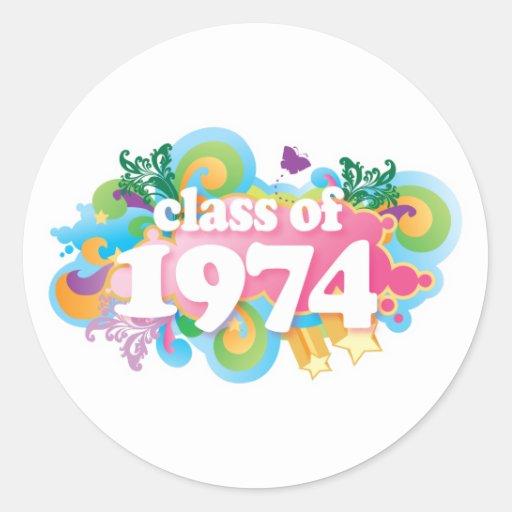 Class of 1974 sticker