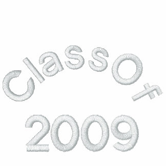 Class Of  2009 Embroideried Shirt Polo Shirts