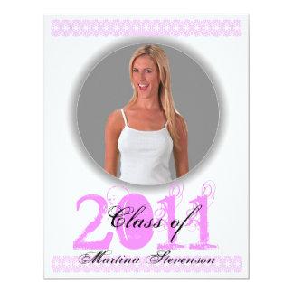 Class of 2011 Invitation PIXP201 Pink