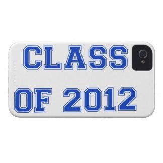 Class of 2012 - Blue Case-Mate iPhone 4 Case