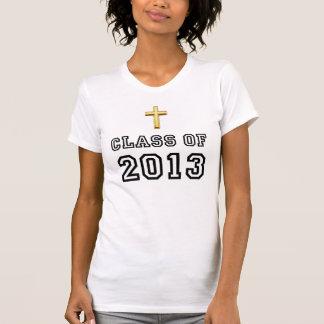 Class Of 2013 Christian Cross - Black 1 Tshirt