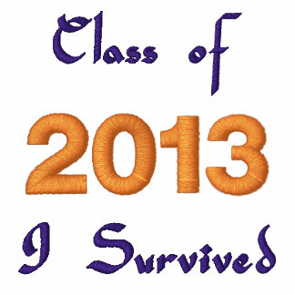 Class of 2013 Embroidered T-shirt