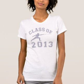 Class Of 2013 Fencing - Grey 2 T Shirts