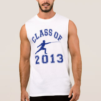 Class Of 2013 Fencing Sleeveless T-shirts