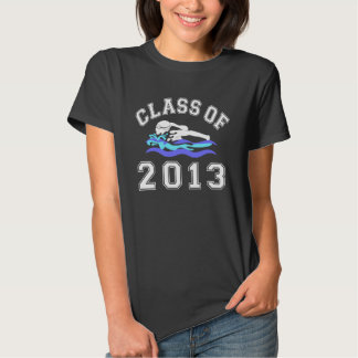 Class Of 2013 Girl Swimming T-shirts