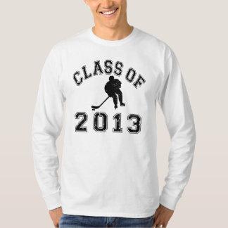 Class Of 2013 Hockey - Black 2 T Shirt