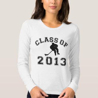Class Of 2013 Hockey - Black 2 T-shirt