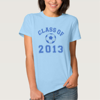 Class Of 2013 Soccer - Blue/White 2 Tshirts