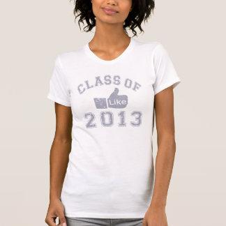 Class Of 2013 Thumbs Up T Shirt