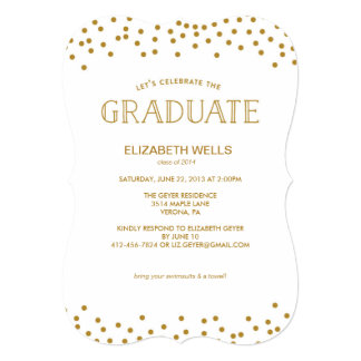 Class of 2014 Graduation Announcement - CONFETTI